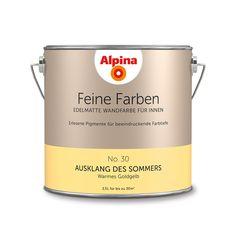 Alpina Feine Farben No. 30 – Ausklang des Sommers. #Design #DIY #Farbe…