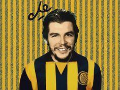 La gran polémica del Che: ¿era o no era de Rosario Central? Animal, Amor, Crib, Rosaries, Champs, Sports, Backgrounds, Animaux, Animal Memes