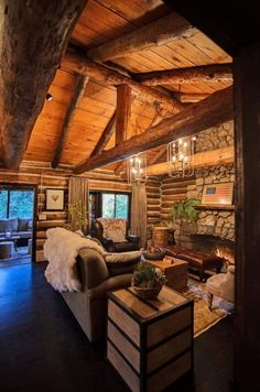 8 Amazing Log Cabin Interiors That Will Make You Awestruck   Cabin ...