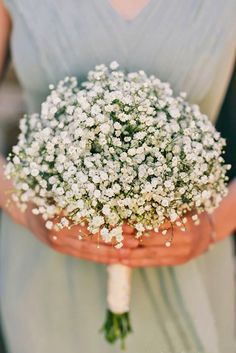18 Baby's Breath Wedding Ideas For Rustic Weddings ❤ See more: http://www.weddingforward.com/babys-breath-wedding-ideas/ #weddings #bouquets
