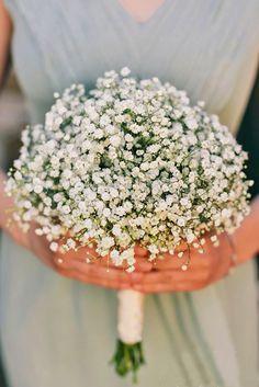 18 Baby's Breath Wedding Ideas For Rustic Weddings ❤ See more: http://www.weddingforward.com/babys-breath-wedding-ideas/ #weddings #bouquets