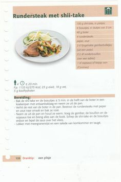 rundersteak met shii take