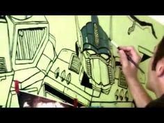 mural optimus 2014 - YouTube