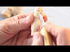 Carving the face of a wooden ball jointed doll process video MonEyG Studio