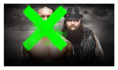 """""""Winner: Bray Wyatt with the help of Luke Harper!!"""" by carmellahowyoudoin ❤ liked on Polyvore featuring WWE"""