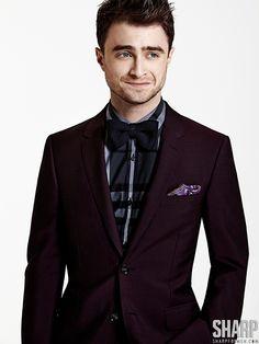 Daniel Radcliffe Dons Dapper Styles for Sharp  image daniel radcliffe 0007