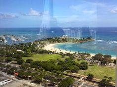 さとうあつこのハワイ不動産: ハワイキタワー08ユニットからの景色