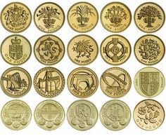 Rare #british £1 pound one pound coins brilliant #circulated from #1983-2015, View more on the LINK: http://www.zeppy.io/product/gb/2/301870689202/