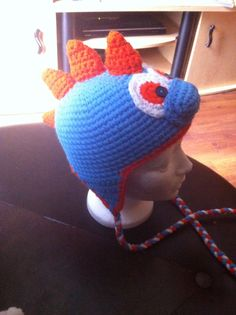 Tuque dino Dino hat