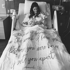 """""""Before I formed you in the womb I knew you. Before you were born I set you apart"""" Jeremiah Godly wisdom is more precious than gold. Share this verse with a friend and keep passing it on! Beautiful photo via + Dream Baby, Baby Love, Baby Baby, Maternity Pictures, Baby Pictures, Baby Photos, Hospital Pictures, Birth Announcement Boy, Baby Prince"""