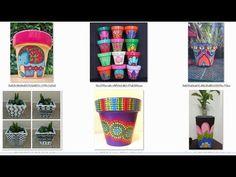 100 IDEAS HERMOSAS MATERAS O MACETAS DECORADAS QUE TE ENCANTARAN - YouTube Decoupage, Cactus, Planter Pots, Decorating, Green, Youtube, Ideas, Cement Pots, Decorated Flower Pots