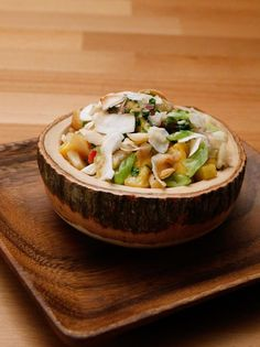 Get Pina Colada Snapper Poke Recipe from Food Network