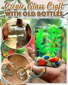 Cutting Glass Bottles, Plastic Bottle Crafts, Diy Bottle, Wine Bottle Crafts, Bottle Art, Wine Bottles, Bottle Cutter, Glass Cutter, Diy Home Crafts