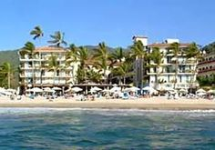 Playa los Arcos in Puerto Vallarta.  Wonderful little hotel in old town.  I would never stay in Nuevo Vallarta