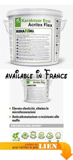 B06XBHP5YD : kerakover Eco Acrilex Flex kerakoll Blanc 14Lt. #Home Improvement #HARDWARE