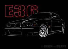 BMW  E36 T SHIRT NEW GRAPHIC DESIGN  BMW DRIFT 318 320 323 325 M3   S - 5XL #SOLS #BasicTee