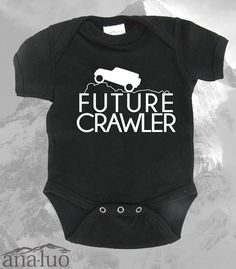 Jeep Future Crawler Onesie