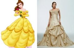 belle wedding gowns