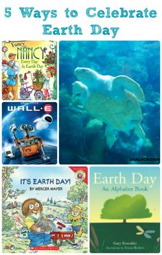 Books, activities and fun movies to help you celebrate Earth Day!