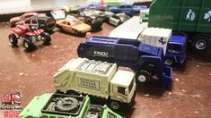 Garbage Truck Videos For Children l Playing With Garbage Trucks And Hot ...