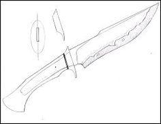 Resultado de imagem para KNIFE template.
