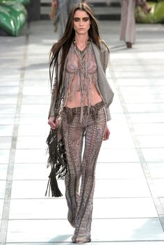 Roberto Cavalli Spring 2011 Ready-to-Wear Collection Slideshow on Style.com