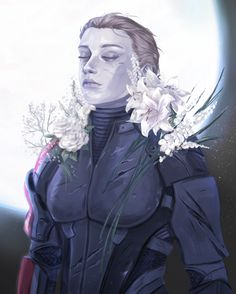 Commander Shepard: No one ever asked what it was like.     #masseffect