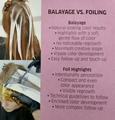 Wella initiatives on #balayage VS #foiling