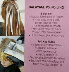 Wella initiatives on #balayage VS #foiling