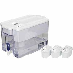 Brita Optimax Water Filter Starter Pack 8.5 Litre White - Mitre 10 Water Coolers, Water Filter, Filters, Bucket, Packing, Kitchen Appliances, Bag Packaging, Diy Kitchen Appliances