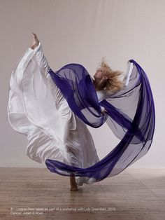 by Lucre Diaz....Amazing display of the wind and dance MOVES with scarf  www.magnificatmealmovement.com.