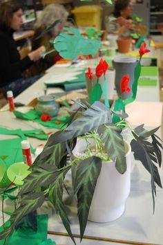 """""""Paper Garden"""", workshop a cura di Annalisa Casagranda, 29 gennaio 2017, Martrovereto, www.mart.trento.it/educazione"""