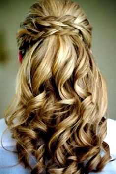 Beautiful Braids And Curls Braid Hairstyles Cute For Homecoming Casual
