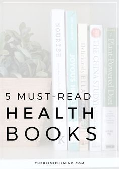 Looking for some inspiration to start being healthier? These are 5 of the best health books that make healthy living SO easy (even if you're a super busy person)! You'll find healthy recipes, easy to digest information about nutrition and health, PLUS exercise tips and plans for people who totally hate working out.