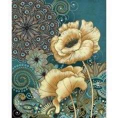 Inspired Blooms II Canvas Art - Conrad Knutsen (24 x 30)