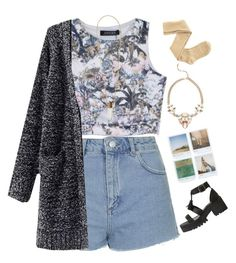 """""""Outfit 2"""" by lydiamckx ❤ liked on Polyvore featuring Topshop, Chloé, Polaroid, Lee Angel Jewelry and Charlotte Russe"""