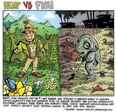 Hemp Foods or Fish? You choose. www.hempfoods.com.au