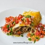 Slow Cooker Classic Meatloaf >> by Tastes of Lizzy T's