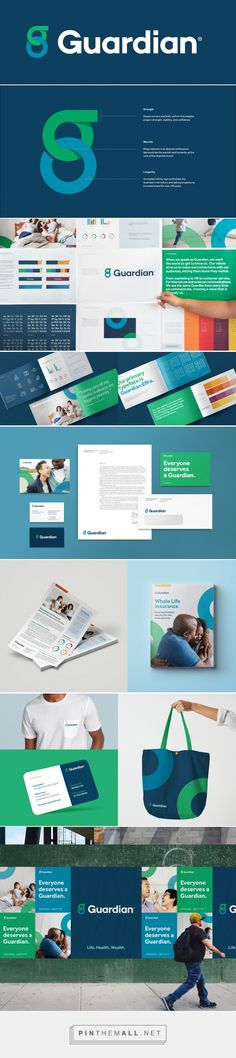 Brand New: New Logo and Identity for Guardian by The Working Assembly - created on Best Logo Design, Brand Identity Design, Graphic Design Branding, Stationery Design, Corporate Design, Web Design, Logo Branding, Logos, Brand Book