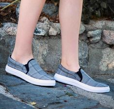 d9df0542dcb7 Reba-58B Black White Step In Sneaker. Black And WhiteSkinny Jeans SneakersSoleBlack ...