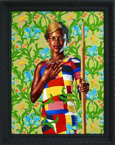 Kehinde Wiley's portraits exude grandeur. In his layered and monumental works, he bestows his subjects with a sky-high sense of beauty, self-possession, and majesty. By adapting the visual vocabulary of power from European Old Master paintings to feature contemporary people of color, Wiley presents a historical corrective and critique, along with a celebration of the everyday people in his wake.While the pose and positioning of the sitters in Wiley's recreations are visibly connected to the…