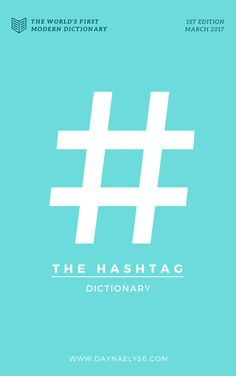 Grab your free copy of The Hashtag Dictionary, the world's first collection of quality hashtags for content creators, entrepreneurs