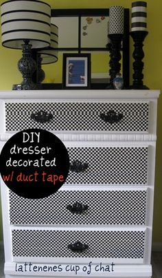 DIY with Duct Tape - Amazing -There are so many different types of duck tape now.
