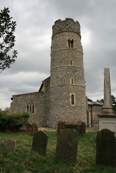The round tower has a Saxon base, the middle part is Norman, and the top is century. Mosques, Cathedrals, Anglo Saxon History, Norfolk Broads, Round Tower, Great Yarmouth, Church Architecture, Cathedral Church, Place Of Worship