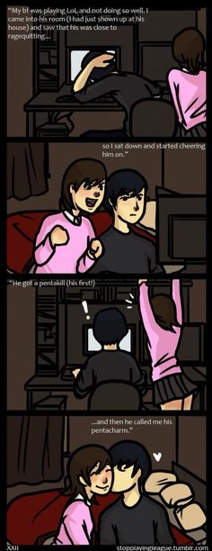 Daaaaw! Me and Doll. (Comic, I think I'm in love with a Derp)