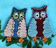 Ravelry: Comic Owl pattern by CAROcreated design.. Free pattern!