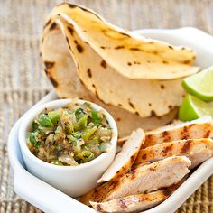 Grilled Chicken Tacos With Salsa Verde Recipe - Cook's Country