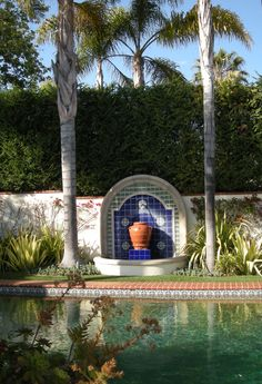 April Palmer - Landscape Design - Venice, CA Spanish Style Homes, Ranch Style Homes, Spanish Revival, Spanish Garden, Mediterranean Garden, Outdoor Rooms, Outdoor Gardens, Outdoor Living, Roman Garden