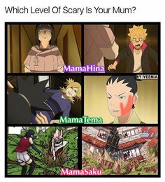 Haha :))) Mothers in Boruto - Hinata, Temari, Sakura ♥♥♥ Still Kushina is the best mommy ♥♥♥ Boruto, Shikadai and Sarada are having though times :)))