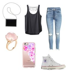 """""""🌷"""" by kenzie4ever11 on Polyvore featuring Goshwara, Converse, Kavu, Nine West and Casetify"""